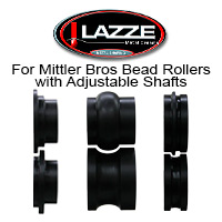 LAZZE Bead Roll Dies - ALL PRODUCTS