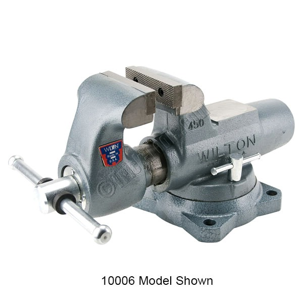 What Is A Bench Vise Used For: 800S, Wilton Machinist Bench Vise, 8 Inch
