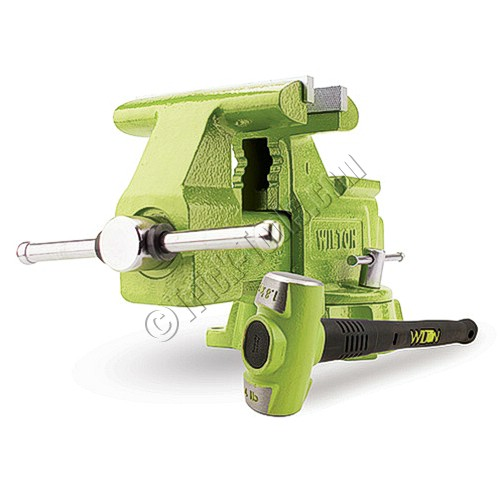 11128bh Wilton Utility Vise And Hammer Combo 6 1 2 Inch
