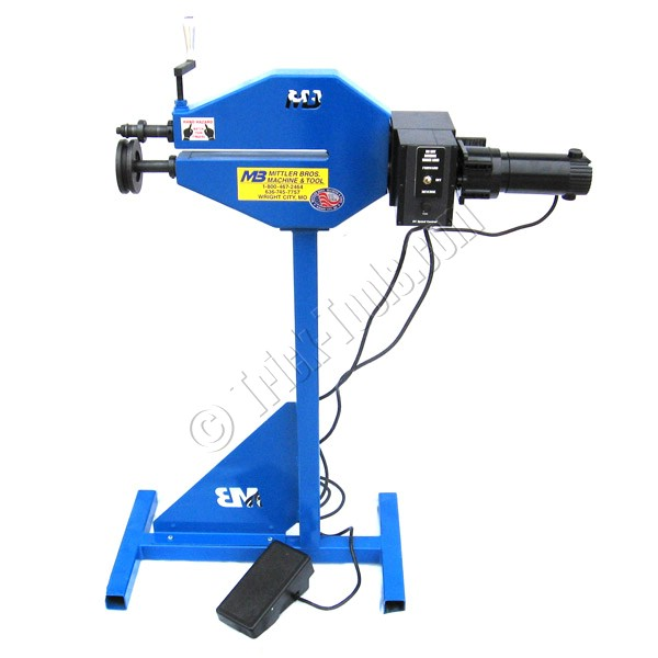 Mittler brothers industrial tube beading machine ebay for Power bead roller motor