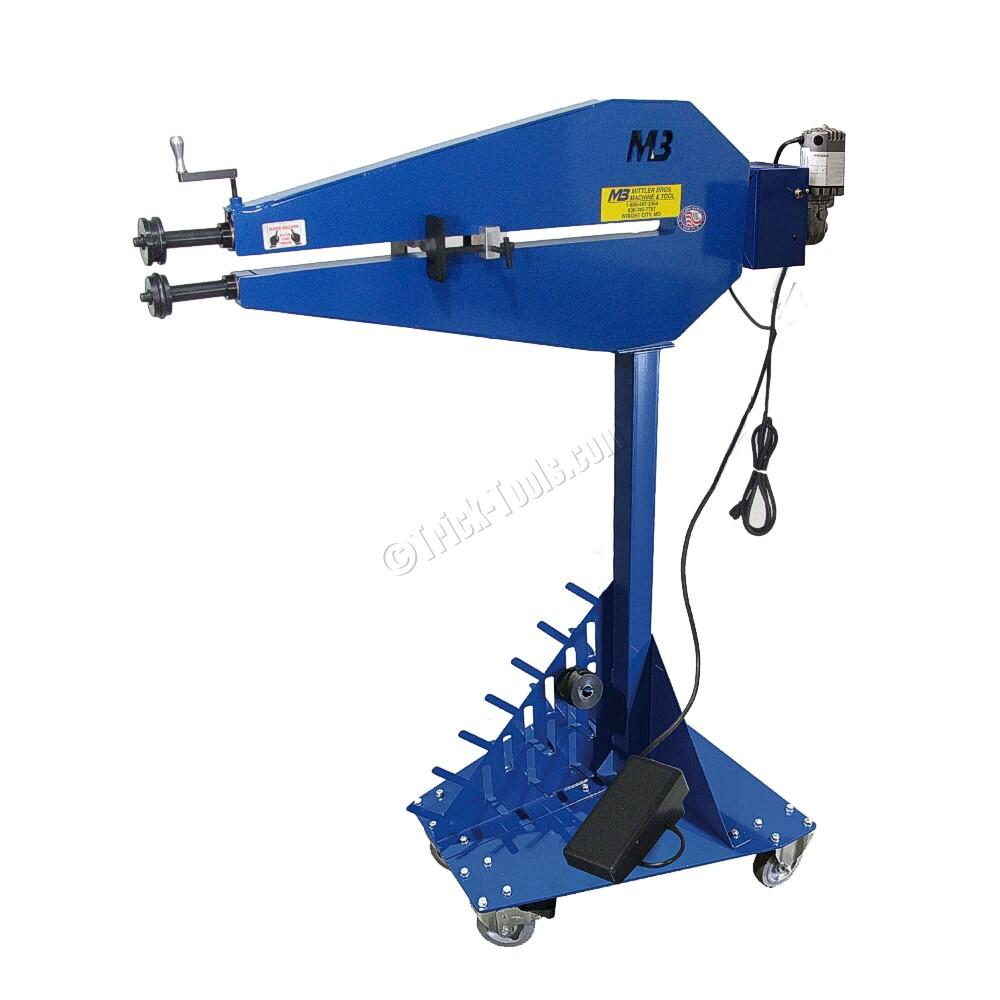 Mittler Bros 200 36 Ttk Deluxe Power Bead Roller For