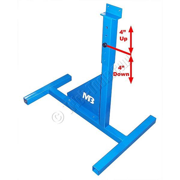 mittler bros 202 031 adjustable height pedestal for bead