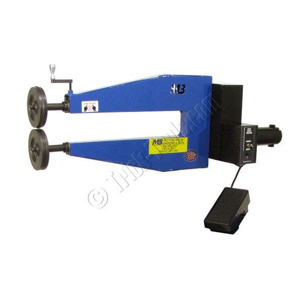 204 24nv mittler bros industrial high throat bead roller