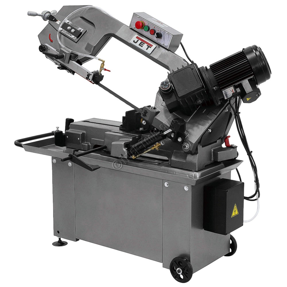 jet horizontal band saw. jet hbs-814gh, 8 x 14 inch horizontal bandsaw jet band saw b