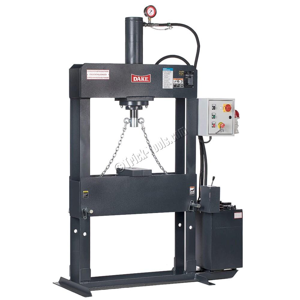 Force 70, 72004, Dake 70 ton Electrical H-Frame Press