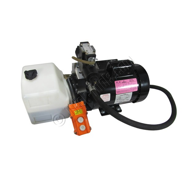 Electric Hydraulic Pump >> 4 000 Psi Electric Hydraulic Pump With Hand Remote And Hose