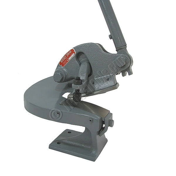 metal shear. beverly b-3 throatless shear, 3/16 inch capacity metal shear