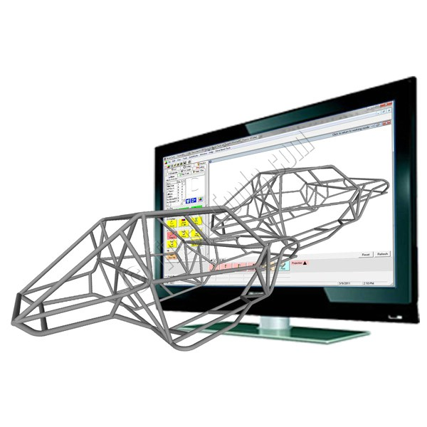 Bend-Tech Pro Tube Bending Software | 3D Tubular Chassis Design