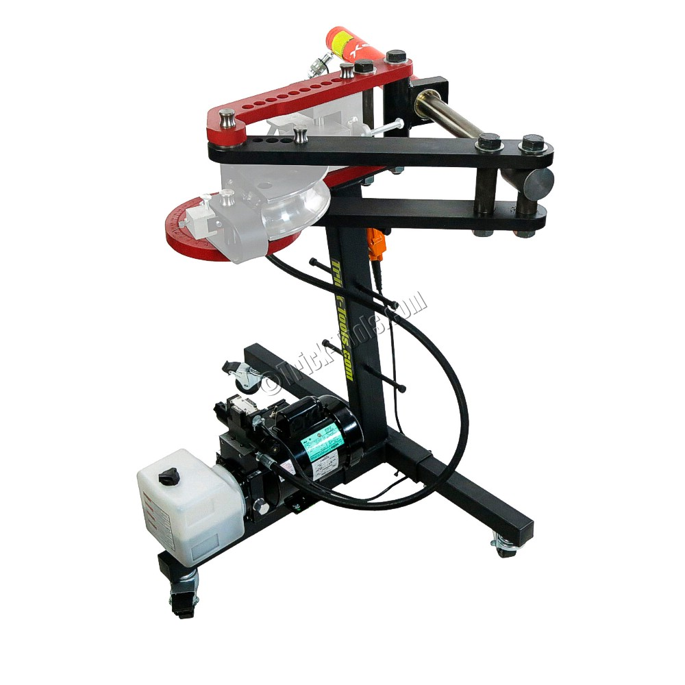 Pro Tools Brute Hydraulic Tube Bender Deluxe Kit Round Tubing Pipe And Square