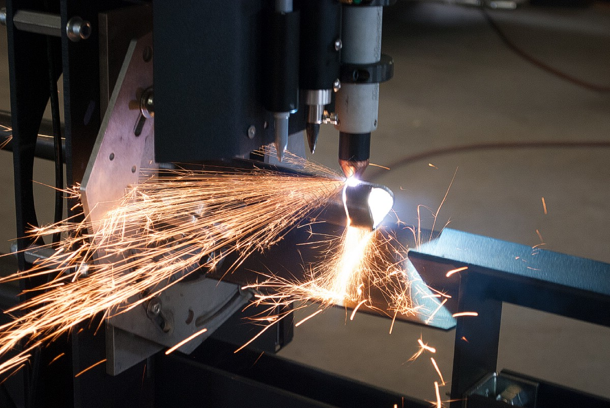 Bend Tech Dragon Tube Cutting And Marking System Plasma