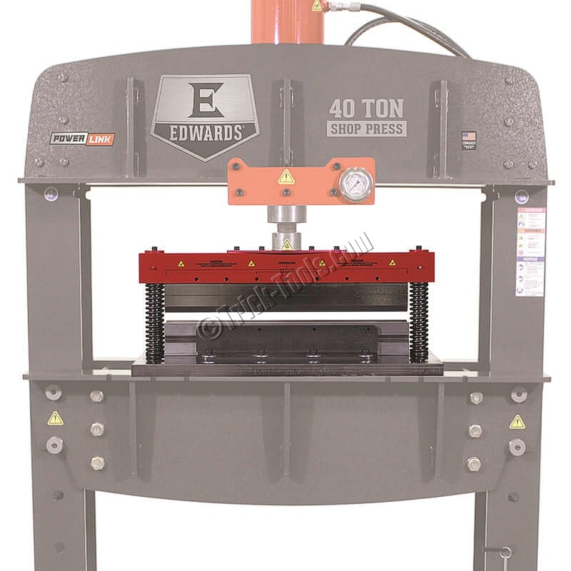 Edwards Press Brake Tooling for H-Frame Presses