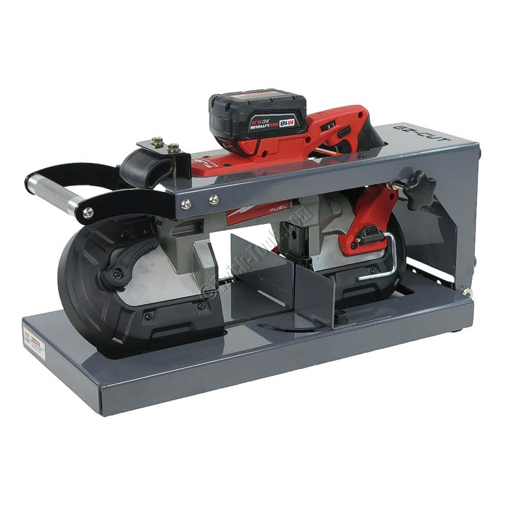 Ezcut jig ez cut jig for milwaukee portaband Band saw table