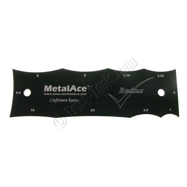 MetalAce Radius Check Gauge