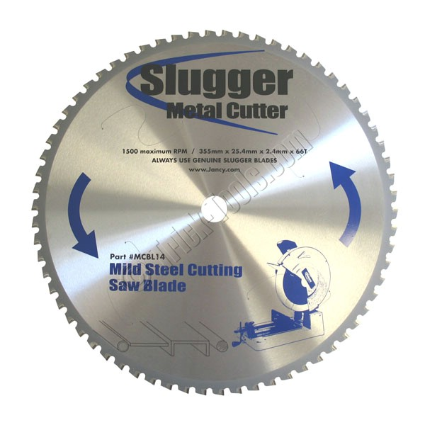 Mcbl14 slugger 14 inch dry cutting metal saw mild steel slugger 14 inch circular saw blade mild steel keyboard keysfo Image collections