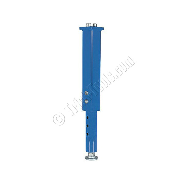 S1 280860 adjustable height leg for siegmund welding table - Table with telescoping legs ...