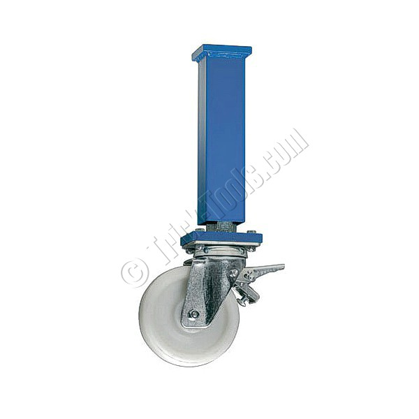 Leg With Heavy Duty Caster For Siegmund Welding Table