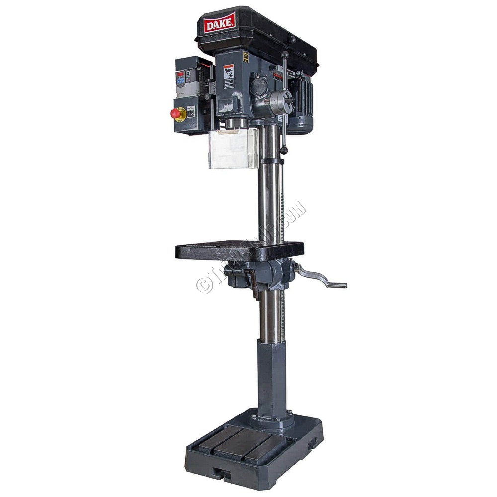 Dake Sb 250v Variable Speed 18 Inch Drill Press With Power Down Feed Wilton Vise Parts Diagram Floor Model