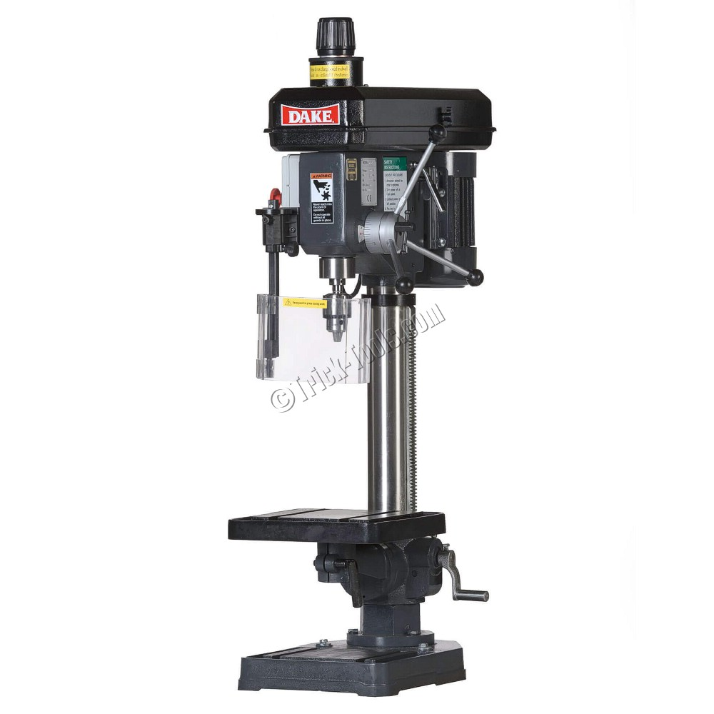 Dake Tb 16v Bench Model Variable Speed Drill Press