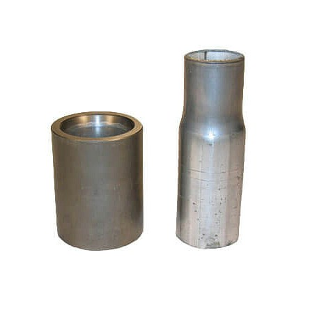 Huth reducer tooling tubing slip fit