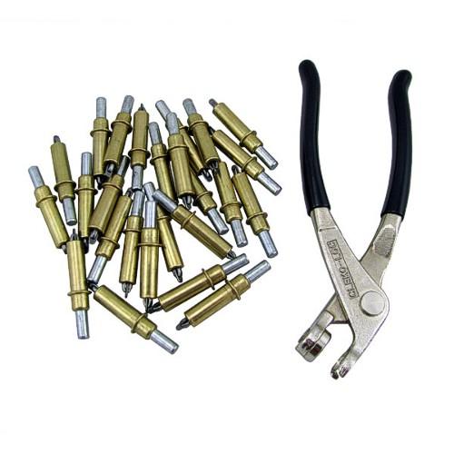 C 1 8 1 8 Inch Cleco Cleco Pliers 100 Piece Kit Metal