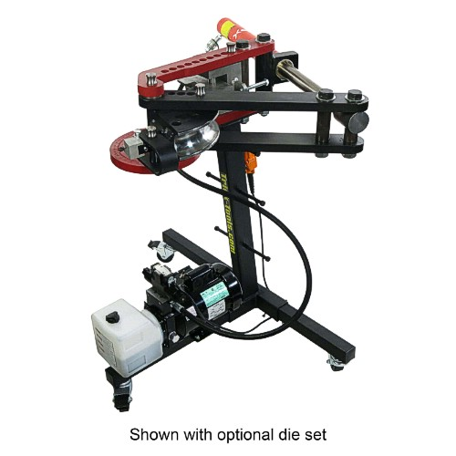 Pro Tools Brute Hydraulic Tube Bender Deluxe Kit Round