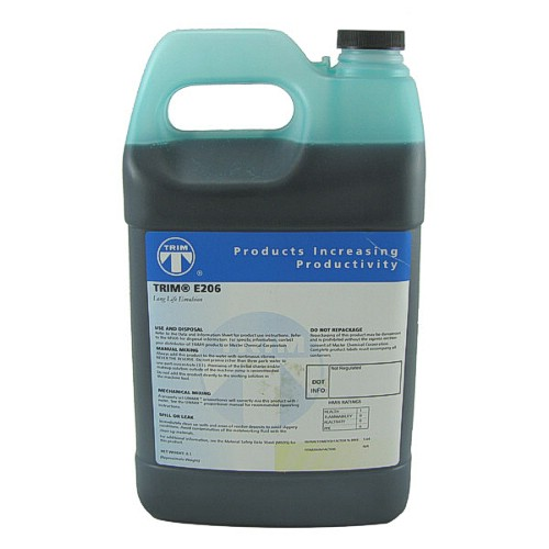 E206 Synthetic Water Based Saw Coolant Cutting Fluid 1