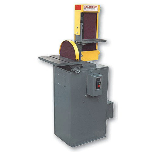 kalamazoo belt grinder. kalamazoo combination 6 inch belt and 12 disc grinder d