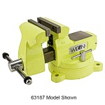 1560, Wilton High-Visibility Safety Vise, 6 inch