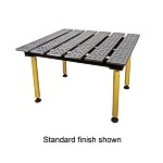 BuildPro Welding Table, 47 x 46 inch, Nitrided
