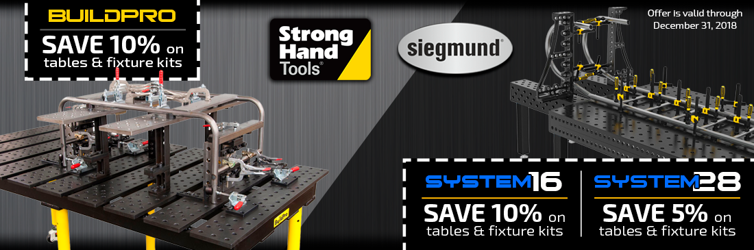 StrongHand Tools Year End Sale