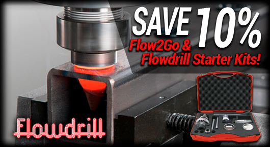 Save 10% on Flowdrill Starter Kits and Flow2Go Kits