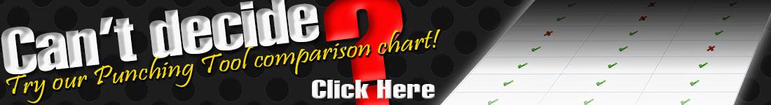 Punching Tools Comparison Chart